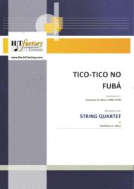 Tico-Tico no Fubá - Choro - String Quartet Sheet Music by Zequinha De Abreu (1880-1935)