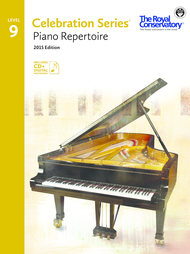 Piano Repertoire 9 Sheet Music by The Royal Conservatory Music Development Program