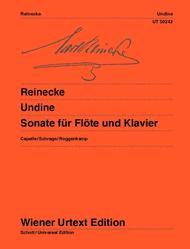 Undine Sheet Music by Carl Reinecke