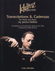 Heifetz Collection Sheet Music by Jascha Heifetz