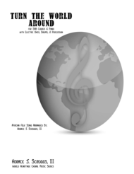Turn the World Around Sheet Music by South African Folk Song
