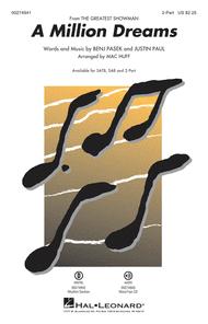 A Million Dreams Sheet Music by Benj Pasek