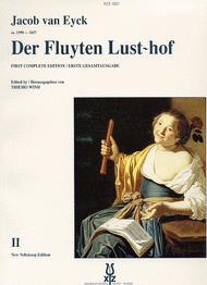 Der Fluyten Lust-Hof vol.2 Sheet Music by Jacob van eyck