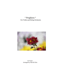 Preghiera (For Solo Violin and Strings) Sheet Music by Francesco Paolo Tosti