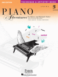 Piano Adventures Level 2B - Technique & Artistry Book Sheet Music by Nancy Faber