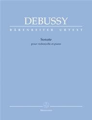 Sonata for Violoncello and Piano Sheet Music by Claude Debussy