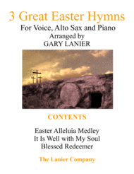 3 GREAT EASTER HYMNS (Voice