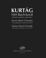 Seven Bach Chorales Sheet Music by Gyorgy Kurtag