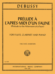 Prelude l'apres midi d'un faune (Prelude to 'Afternoon of a Faun') for Flute