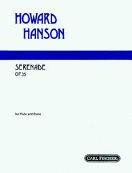 Serenade Sheet Music by Howard Hanson