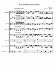 Old-time Fiddle Medley For Strings Sheet Music by Traditional