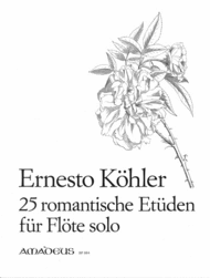 25 Romantic Studies op. 66 Sheet Music by Ernesto Kohler
