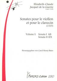 Sonates pour le Viollon et pour le clavecin - Volume 1: Sonata I (d)