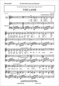 The Lamb (Choral Score) Sheet Music by Gerald Patrick Coleman