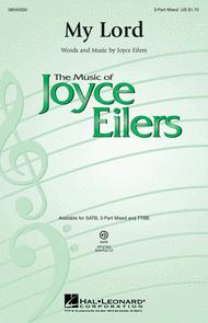 My Lord Sheet Music by Joyce Eilers