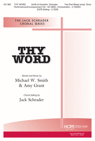 Thy Word Sheet Music by Michael W. Smith