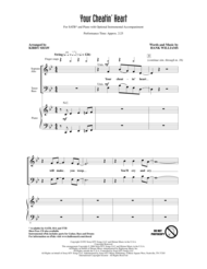 Your Cheatin' Heart Sheet Music by Hank Williams