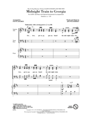 Midnight Train To Georgia Sheet Music by Gladys Knight & The Pips