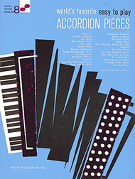 World's Favorite Easy to Play Accordion Pieces Sheet Music by Various