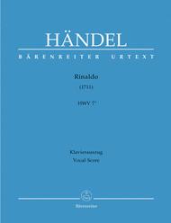 Rinaldo HWV 7a Sheet Music by George Frideric Handel