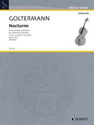 Nocturne G major op. 125/1 Sheet Music by George Goltermann