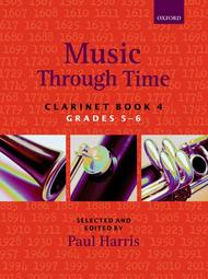 Music Through Time Clarinet Book 4 Sheet Music by Paul Harris