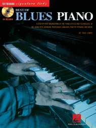 Best of Blues Piano Sheet Music by Todd Lowry