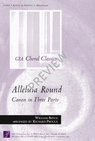 Alleluia Round Sheet Music by William Boyce