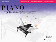 Piano Adventures Primer Level - Technique & Artistry Book Sheet Music by Nancy Faber