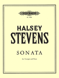 Sonata For Trumpet And Piano Sheet Music by Halsey Stevens
