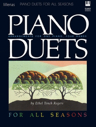 Piano Duets for All Seasons Sheet Music by Ethel Tench Rogers