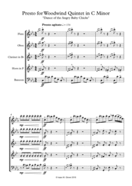 Dance of the Angry Baby Chicks Sheet Music by Isaac M. Glover