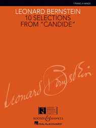 10 Selections from Candide Sheet Music by Leonard Bernstein