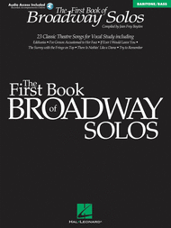 First Book Of Broadway Solos - Baritone/Bass Sheet Music by Joan Frey Boytim