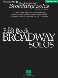 First Book Of Broadway Solos - Baritone/Bass Sheet Music by Joan Frey Boytim