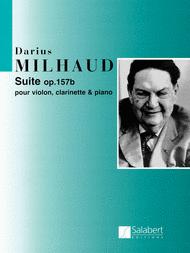 Suite Op. 157b Sheet Music by Darius Milhaud