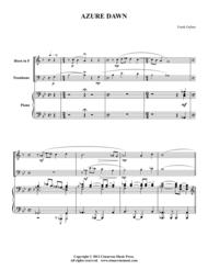 Azure Dawn Sheet Music by Frank Gulino