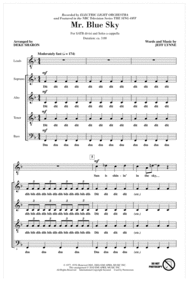 Mr. Blue Sky (from NBC's The Sing-Off) Sheet Music by Electric Light Orchestra