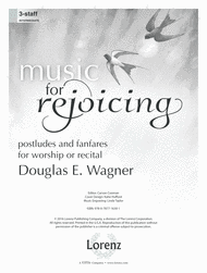 Music for Rejoicing Sheet Music by Douglas E. Wagner