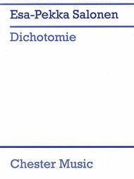 Dichotomie Piano Score Sheet Music by Esa-Pekka Salonen