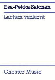 Lachen Verlernt Sheet Music by Esa-Pekka Salonen
