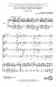 Every Time I Feel The Spirit Sheet Music by Rollo Dilworth