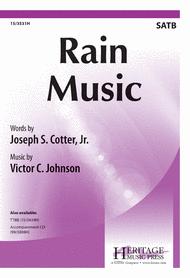 Rain Music Sheet Music by Victor C Johnson