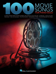 100 Movie Songs for Piano Solo Sheet Music by Various