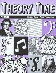 Theory Time Primer Workbook Sheet Music by Heather Rathnau