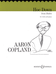 "Hoe Down from ""Rodeo"" (Violin/Piano) Sheet Music by Aaron Copland"