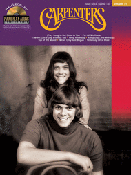 Carpenters Sheet Music by The Carpenters