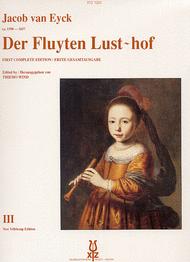 Der Fluyten Lust-Hof vol.3 Sheet Music by Jacob van eyck