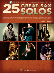 25 Great Sax Solos Sheet Music by Eric J. Morones