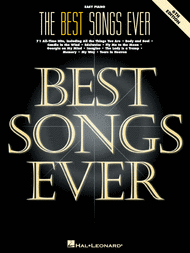 The Best Songs Ever - 6th Edition (Easy Piano) Sheet Music by Various